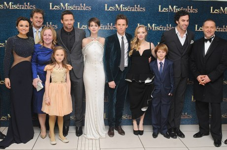 Les Miserables cast and crew