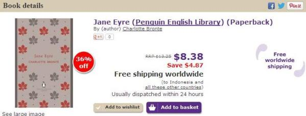 WW Jane Eyre PEL