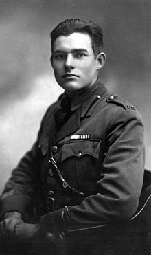 Ernest Hemingway in 1918