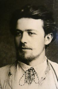 Anton Chekov in 1889