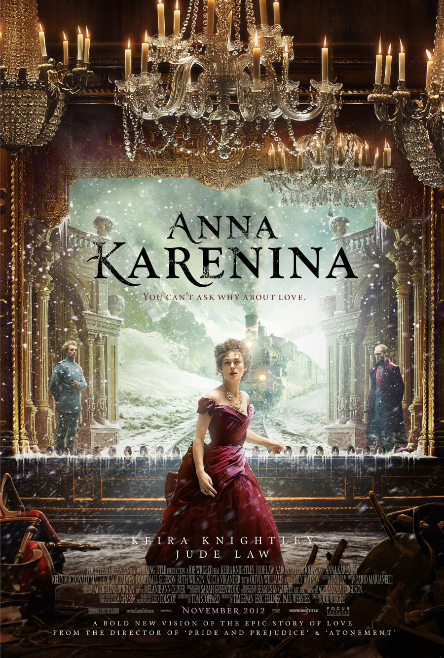 a review of the story of vronsky and anna love struggle Synopsis written during tolstoy's great mid-period, in which he also wrote war   anna karenina is the story of one woman's love and her passionate struggle.