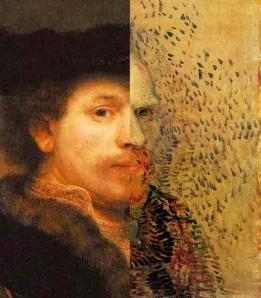Jeroen Huijbregts – Rembrandt van Gogh (2013). Image source