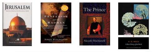history rc 2014 books