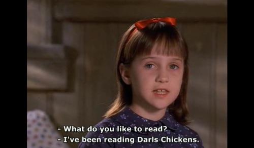 matilda darls chickens